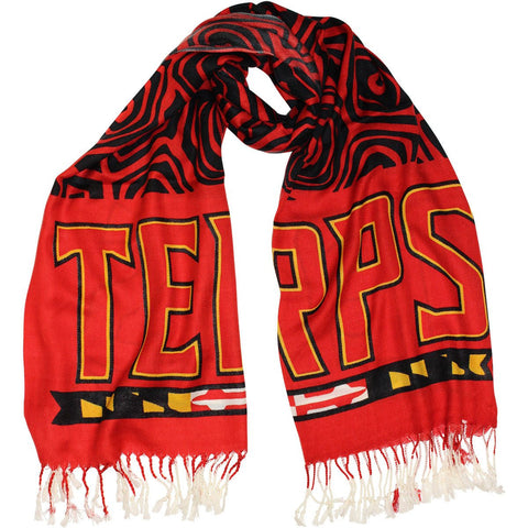 UMD Terps & Turtle Shell (Red & Black) / Scarf