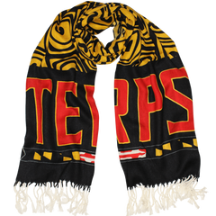UMD Terps & Turtle Shell (Black & Gold) / Scarf