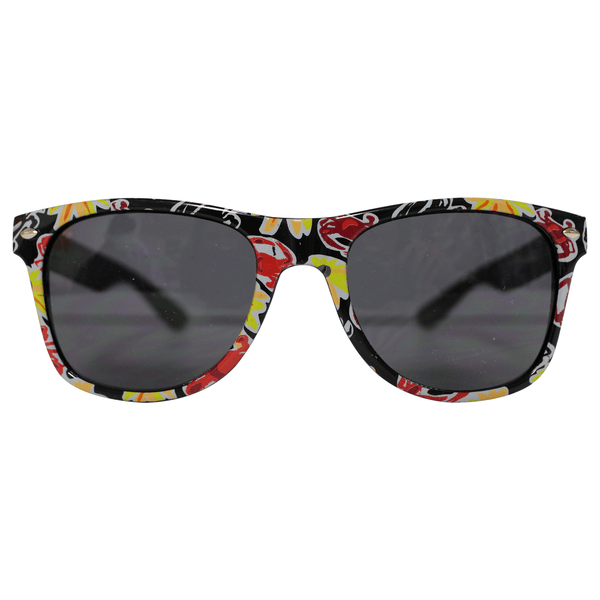 Pennington Crab & Black Eyed Susan Pattern / Shades
