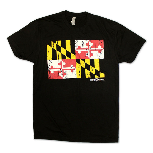 Maryland Flag (Black) / Shirt