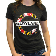 Mind The Gap Maryland (Vintage Black) / Ladies Shirt