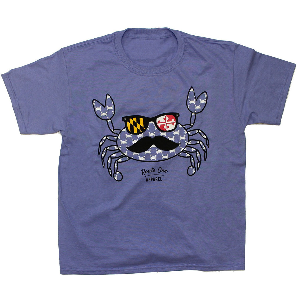 Halloween Fun Crab Disguise (Violet) / *Youth* Shirt