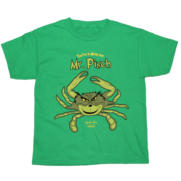 Mr. Pinch (Green) / *Youth* Shirt