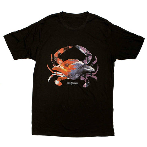 Baltimore Birds Crab (Black) / Shirt - Route One Apparel