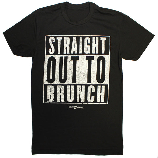 Straight Out To Brunch (Black) / Shirt