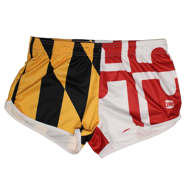 Maryland Full Flag / Running Shorts (Women)