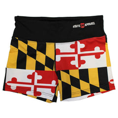 Maryland Full Flag / Stretch Shorts