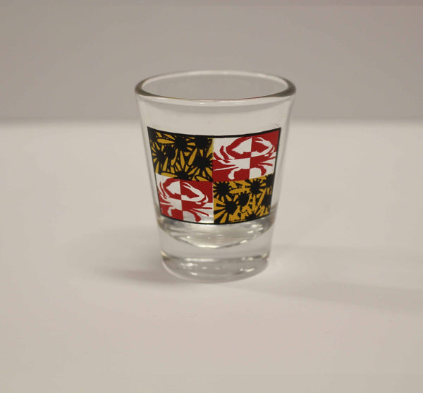 Crabby Susan Maryland / Shot Glass