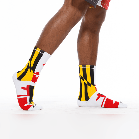 Maryland Flag / Crew Socks