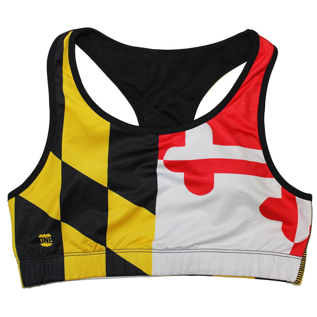 Maryland Full Flag / Sports Bra