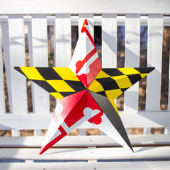 Maryland Flag / Barn Star