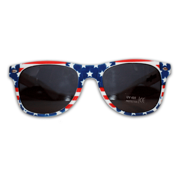 USA Horizontal Stars and Stripes / Sunglasses