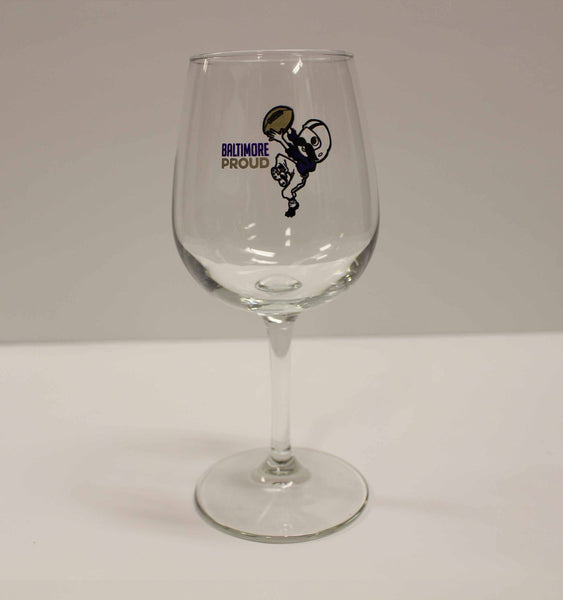 Baltimore Proud Boh / Wine Glass