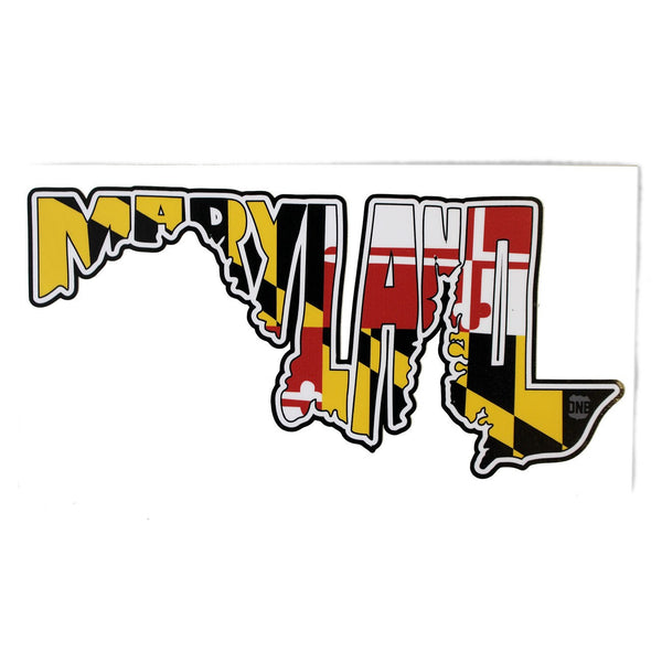 Maryland in Maryland in Maryland / Sticker