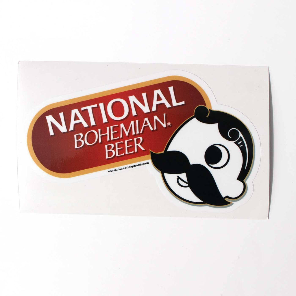 National Bohemian Beer / Sticker