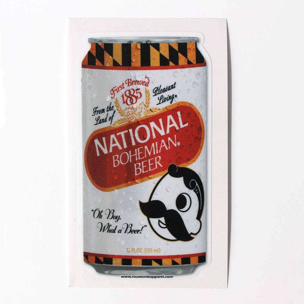 Natty Boh Commemorative Can / Sticker