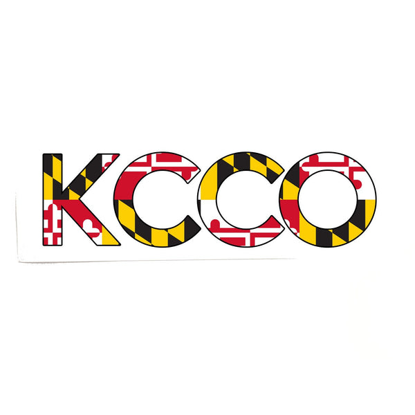 Maryland Flag KCCO / Sticker