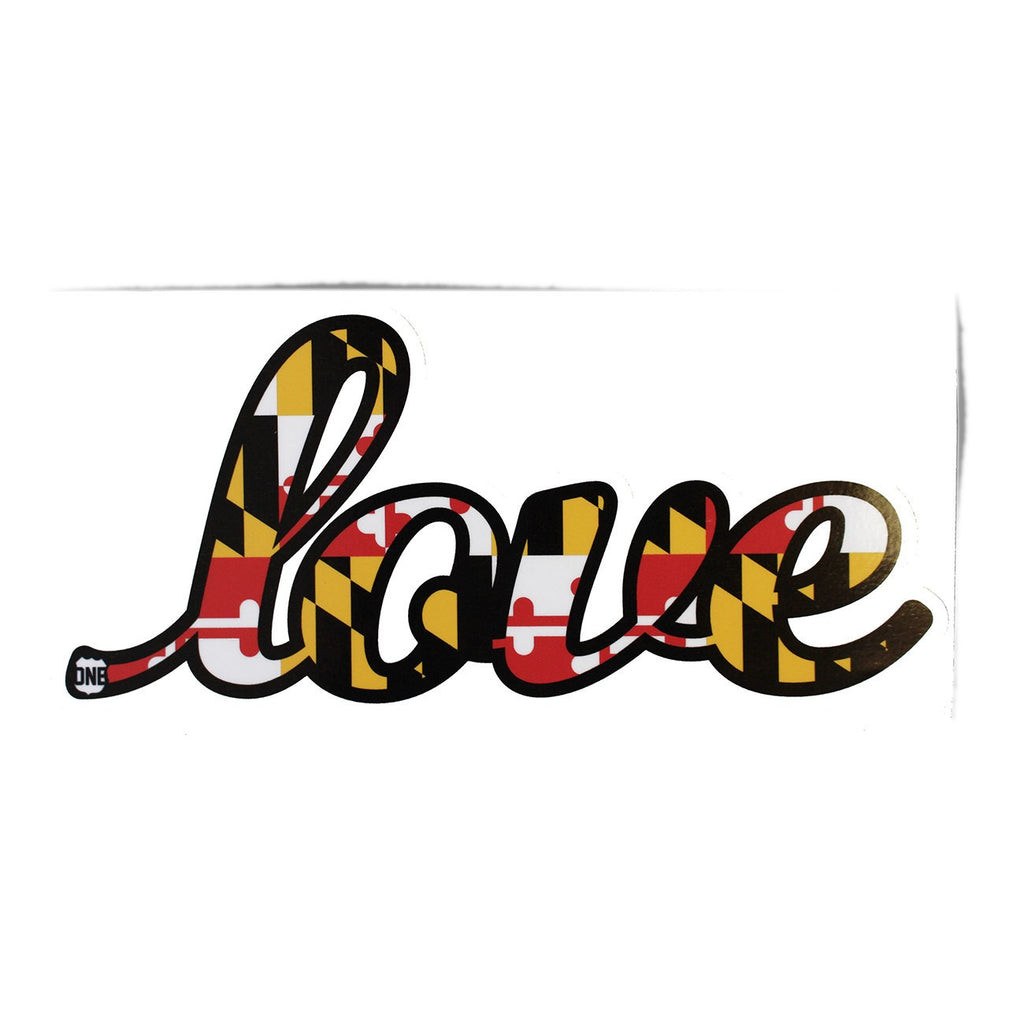 Maryland Love / Sticker