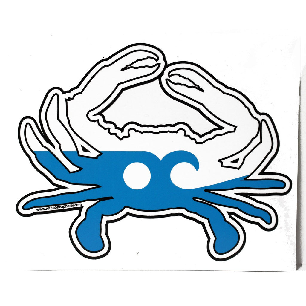 Ocean City Maryland Crab / Sticker
