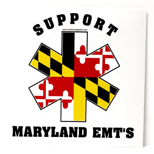 Support Our Maryland EMT's / Sticker