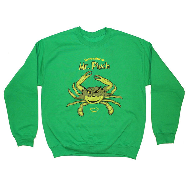 Mr. Pinch (Green) / Crew Sweatshirt