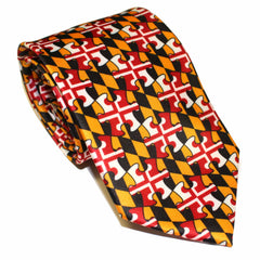 Maryland Flag Puzzle Piece / Tie