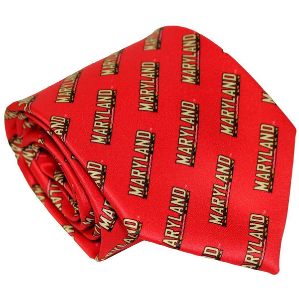 University of Maryland Athletic (Red) / Tie