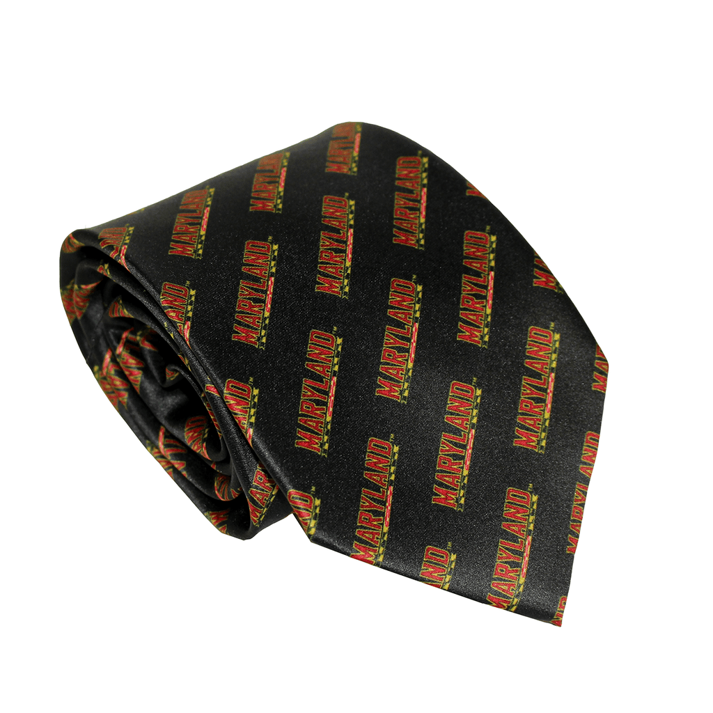 University of Maryland Athletic (Black) / Tie