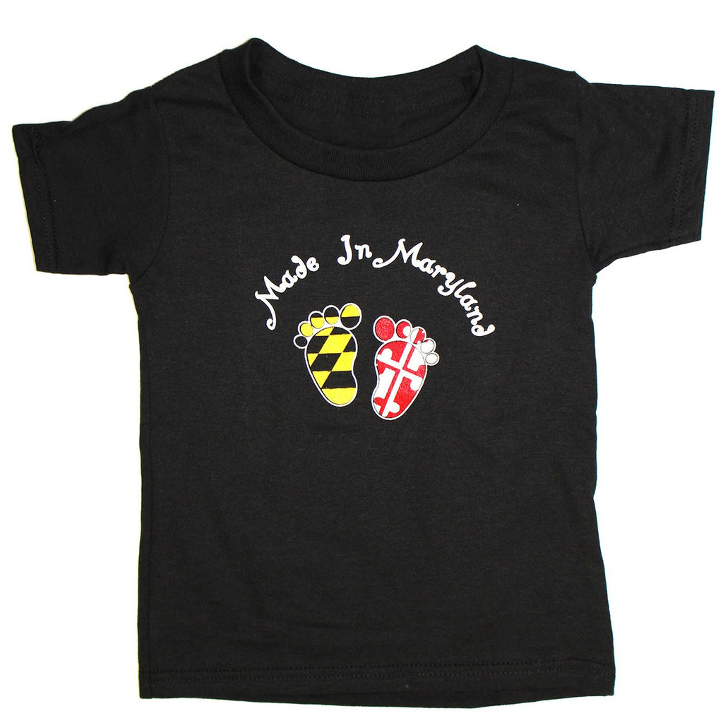 Made in Maryland (Black) / *Toddler* Shirt