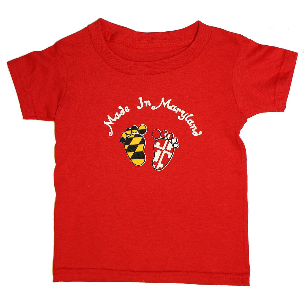 Made in Maryland (Red) / *Toddler* Shirt