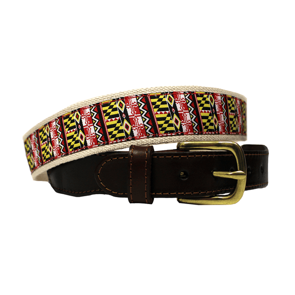 Geometric Maryland Flag / Belt