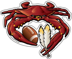Washington Football Crab / Sticker