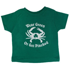 Wear Green or Get Pinched (Green) / *Toddler* Shirt