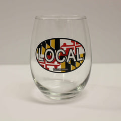 Maryland Local / Stemless Wine Glass