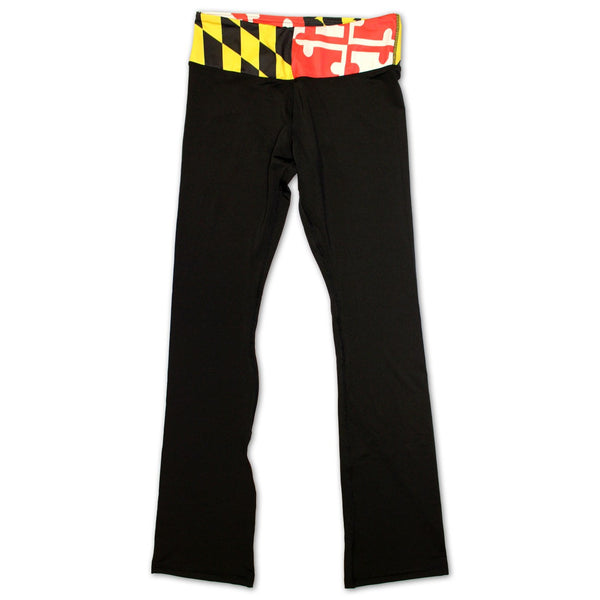 Maryland Flag / Yoga Pants