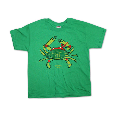 Ninja Crab (Kelly Green) / *Youth* Shirt