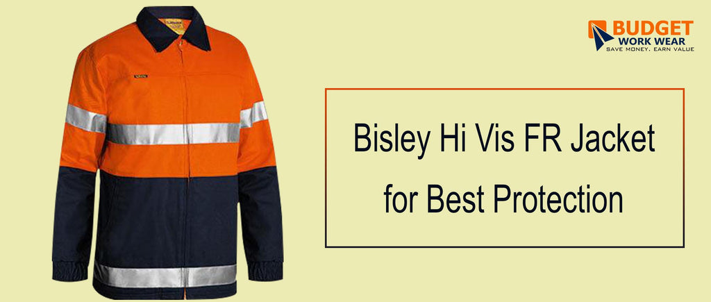 Bisley Hi-Vis FR Jacket for Best Protection