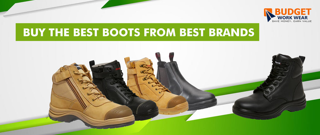 Buy the Best Boots from Best Brands at budget work wear