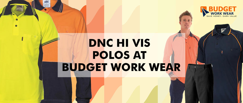 DNC Hi Vis Polos at Budget Work Wear
