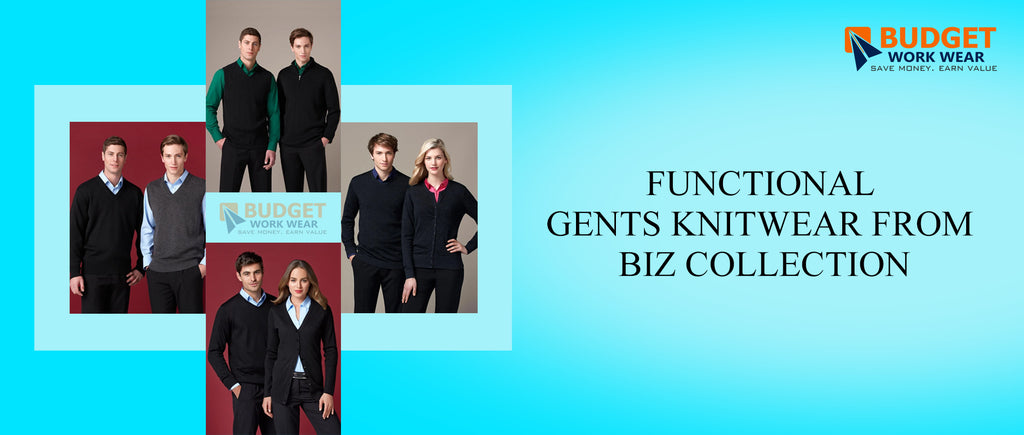 Functional Gents Knitwear from Biz Collection