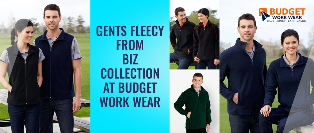 Gents Fleecy from Biz Collection at Budget Work Wear