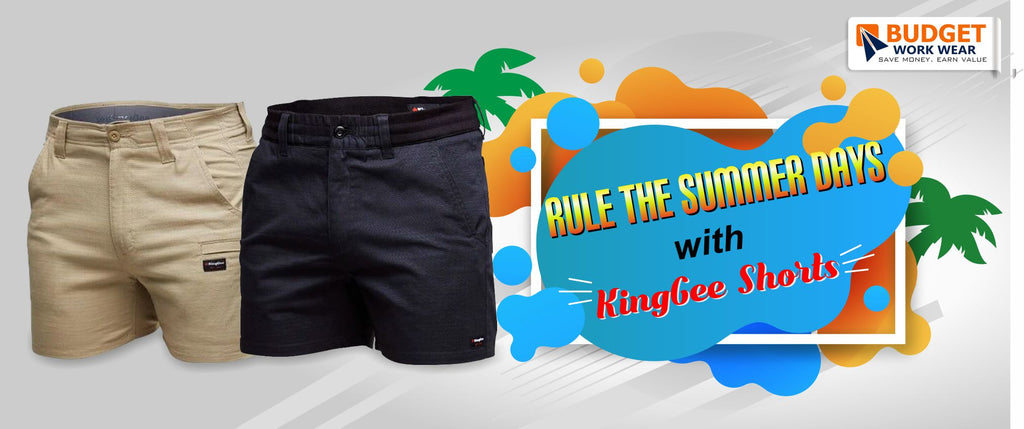 Rule this 2020 Summer with KingGee Shorts