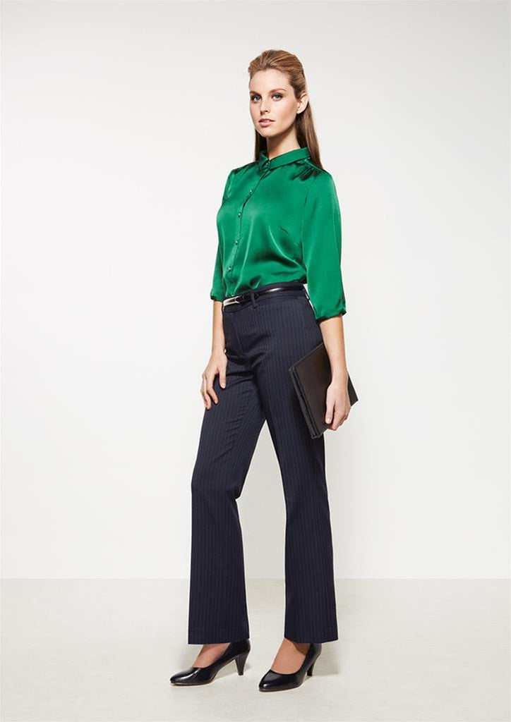 Biz Corporates-Biz Corporates Ladies Relaxed Fit Pant--Corporate Apparel Online - 1