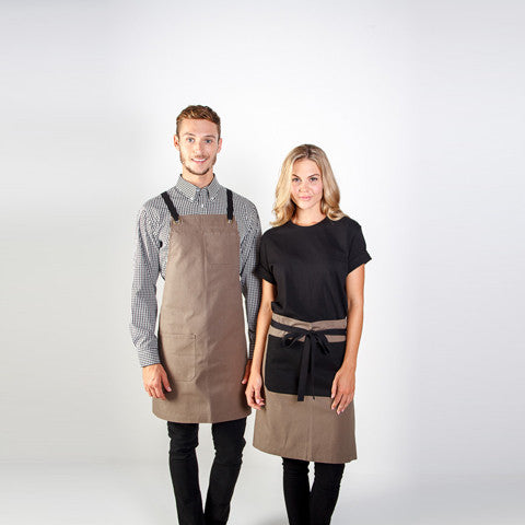 Identitee-Brooklyn Canvas Bib Apron