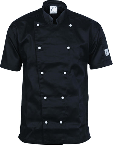 DNC Three Way Air Flow Lightweight Chef Jacket - S/S (1105)