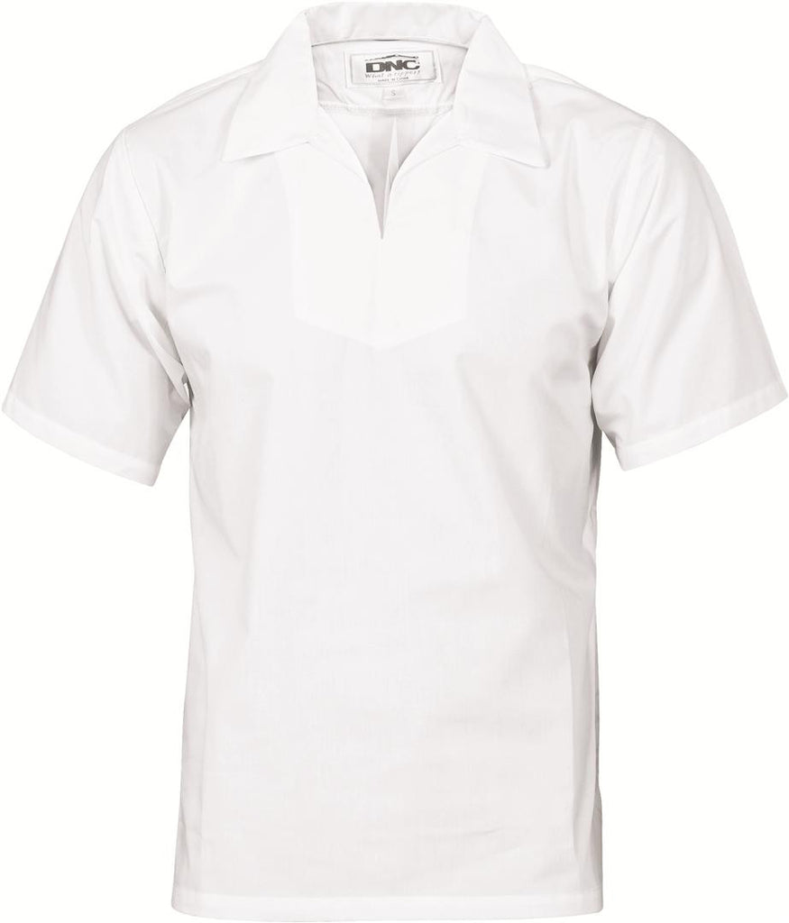 DNC V-Neck Food Industry Jerkin Short Sleeve (1311)