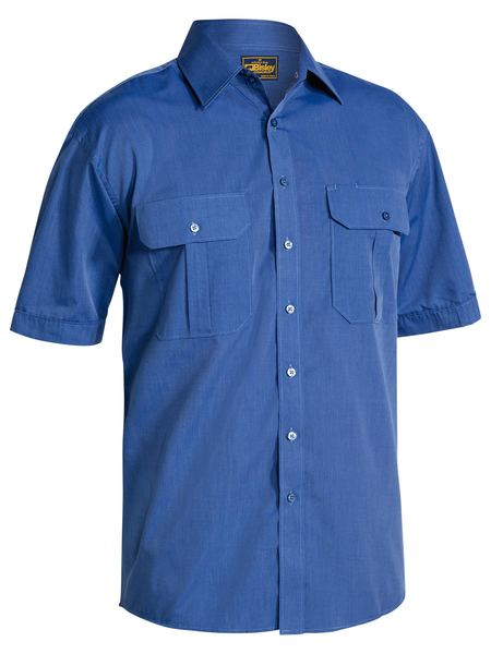Bisley Metro Shirt - Short Sleeve-(BS1031)