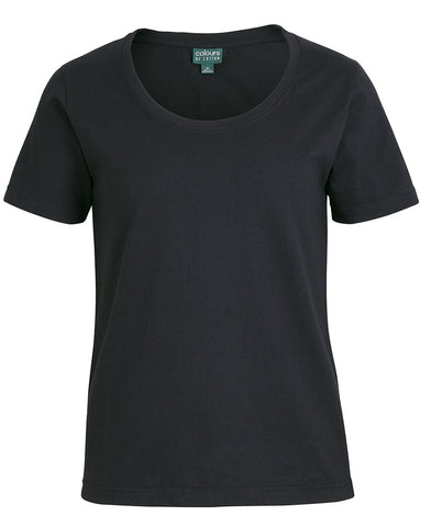 JB's C Of C Ladies Comfort Crew Neck Tee (1CCT1)