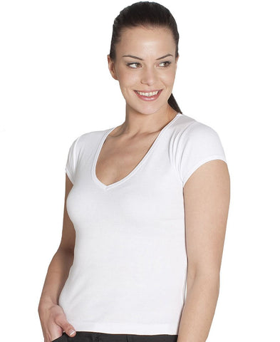 JB's Ladies V-Neck Tee (1LV)