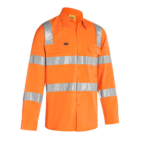 Bisley Taped Hi Vis Bio Motion Shirt (BS6016T)
